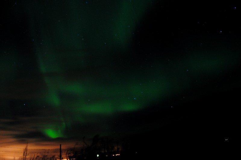 Aurora Borealis as seen from Reykjavik