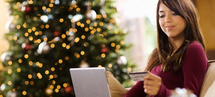 Online shopping with credit card promotion