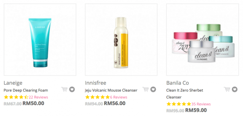 Korean Makeup Removers and Cleansers