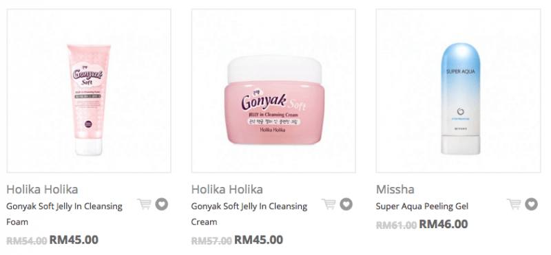 Korean Cleansing Creams and Facial Washes