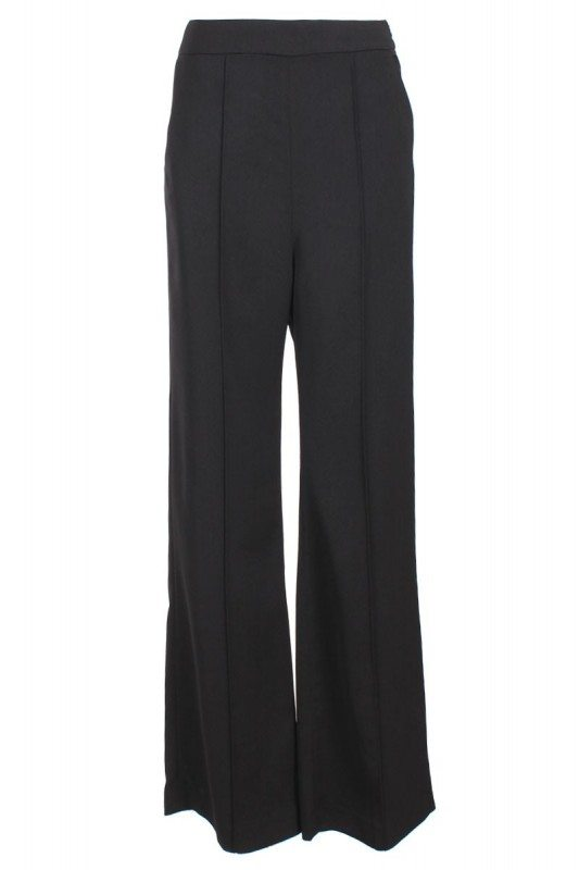 Poplook Ursylla flare slacks in black