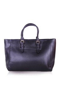 Poplook wilis tote bag in black
